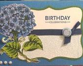 Elegant Hydrangea Birthday Card