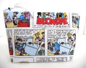 Blondie Comic Strip  Make Up / Coin / Storage / Cell Phone Bag
