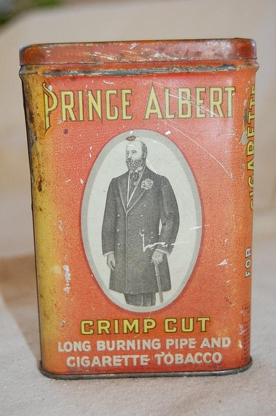 prince albert tobacco tin dating