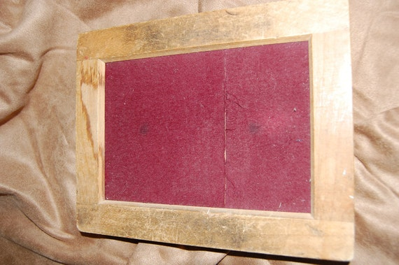 Vintage Photography Camera Wooden Developing Tray Contact Printing Frame