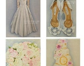 The Wedding Package III (2) CUSTOM Paintings in OIL by Lara 11x14