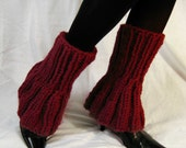Leg Warmers Red Crimson Ultra Flared - Pick your color