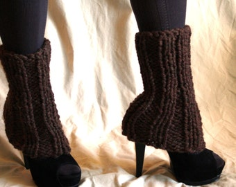 Leg Warmers Chunky Tailored - Pick Your Color