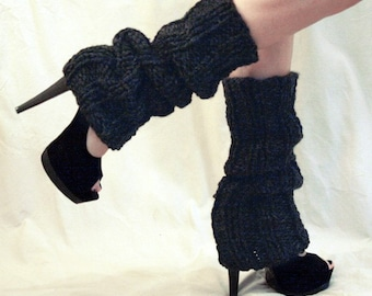 Leg Warmers Charcoal Ultra High or Pick Your Color
