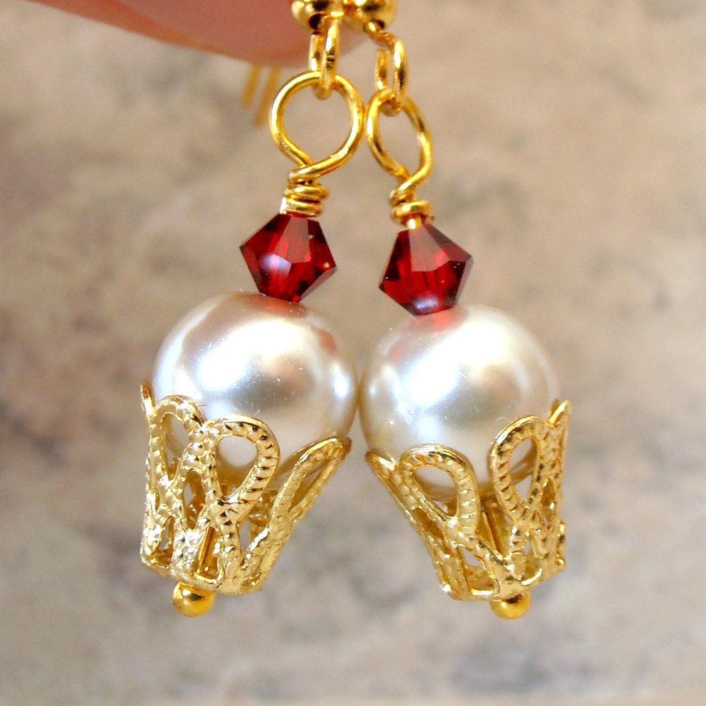Ice Cream Earrings Beaded Jewelry Ice Cream Sundae Dangle