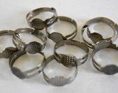 10 x Ring Blanks