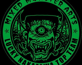 Mixed Monster Arts (MMA) T-Shirt (Mens size S ONLY- last 4 in stock)