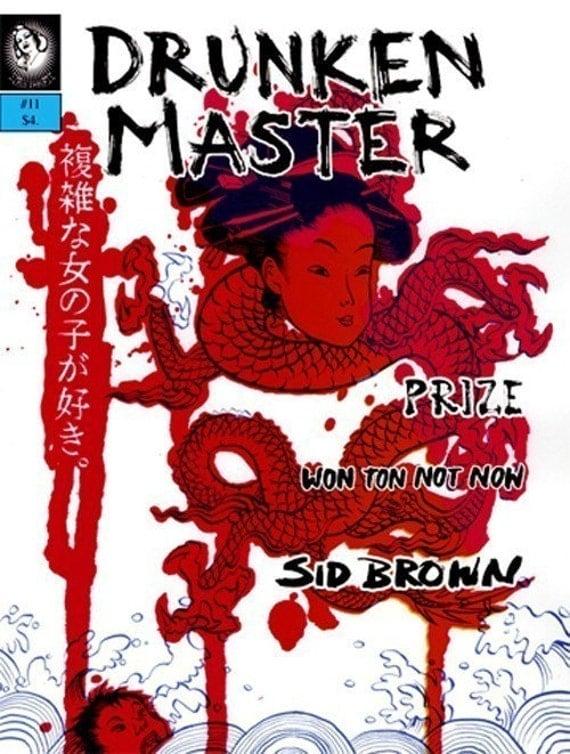 Drunken Master zine issue 11