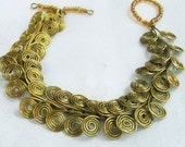 Egyptian Coil Bracelet Tutorial