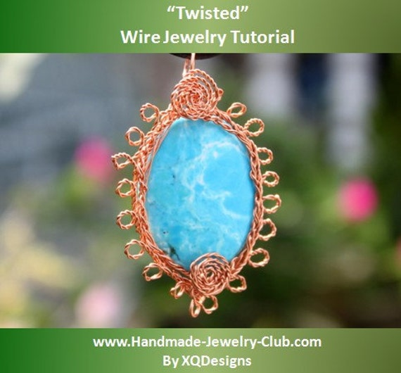 Items Similar To Twisted Wire Jewelry Tutorial On Etsy