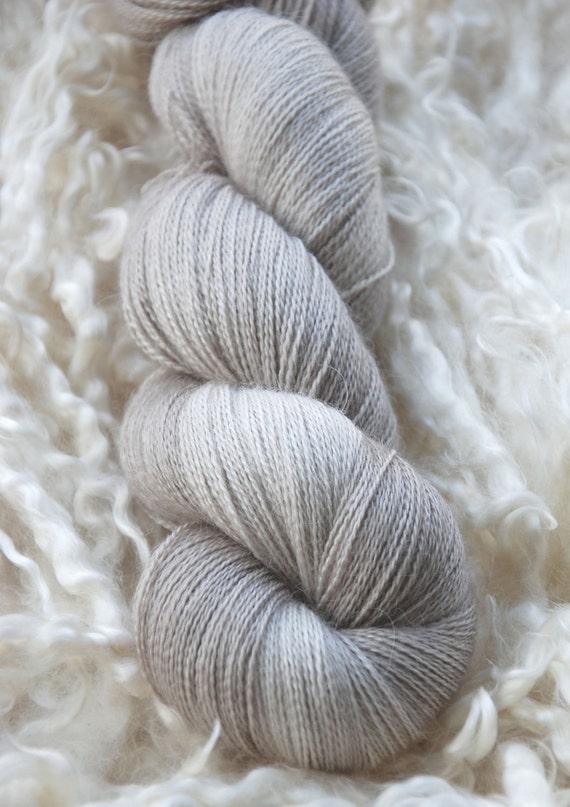 Alice Lace - Baby Alpaca/Silk /Cashmere 800m - Au Lait