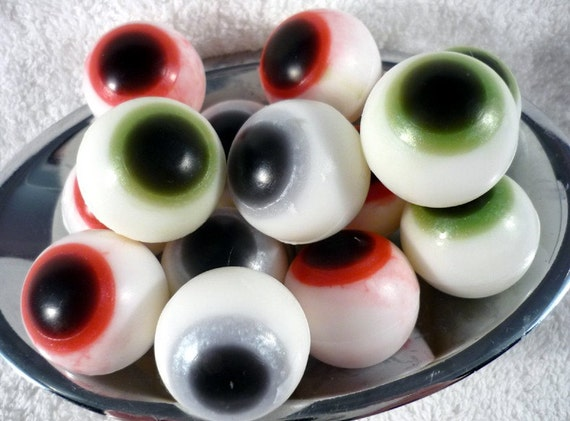 RED Eye Soap, One Pair of RED eyes
