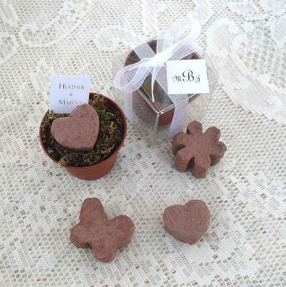 Flower Seed Wedding Favours: 35 Flower Seed Wedding Bridal Shower Favors Free
