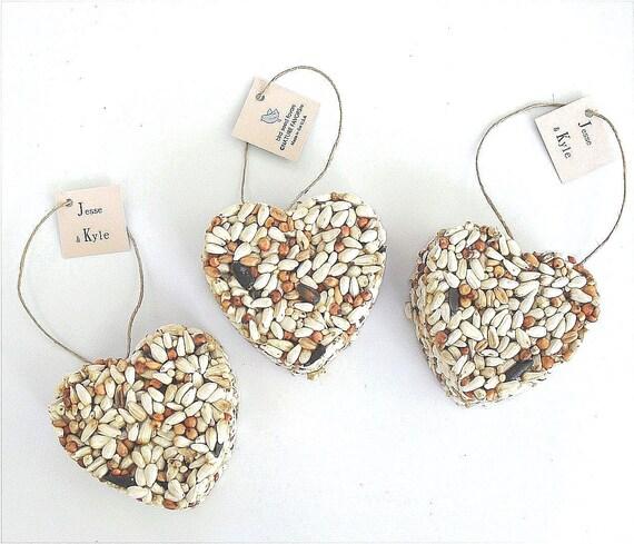 100 bird seed ornament wedding favors bridal shower favor ideas