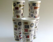 Retro Boating Themed Insulated Tumblers