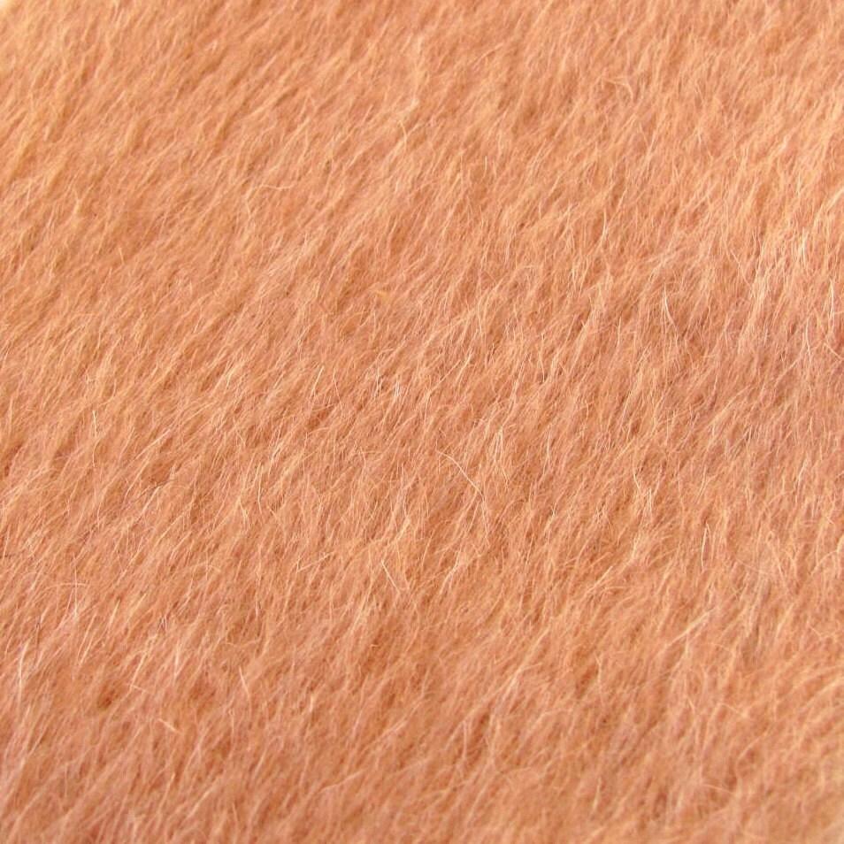 Gorgeous Vintage Camel Hair Fabric Sewing Teddy Bear
