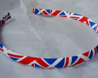 british flag headband
