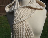 Nordic Hooded Scarf, Crochet Pattern Pdf, instant download available