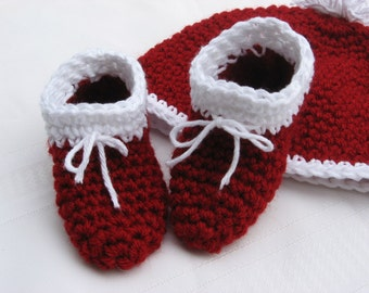 Crochet Baby Booties ,Crochet Pattern Pdf 4 sizes 0-3mos,3-6mos,6-9,mos 9-12mos