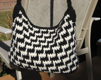 Steppin Out Bag. Crochet Pattern Pdf, Instant pattern download available