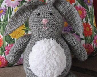 "Bunny Rabbit ""Honey Bunny"" Crochet Pattern pdf  Instant Pattern Download Available"