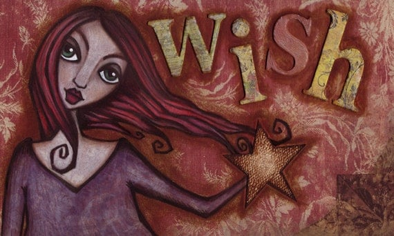 Wish - 10 x 6 inch Signed Print