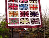 "The ""Jack"" Union Jack Quilt Pattern PDF"