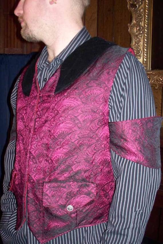 Neo Gothic Victorian Gentleman's Vest
