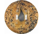 Bagel Double Toggle Switch Plate Cover