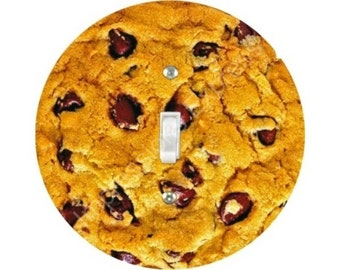 Chocolate Chip Cookie Single Toggle Switch Plate Cover