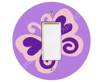 Butterfly Decora Rocker Switch Plate Cover