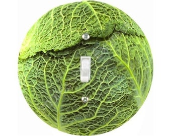 Cabbage Single Toggle Switch Plate Cover