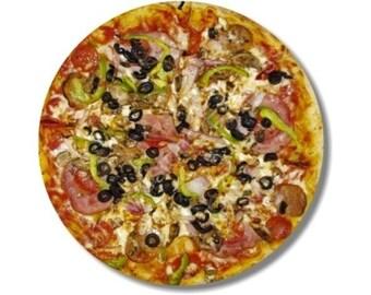 Supreme Pizza Round Mousepad