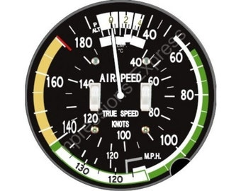 Aviation Airspeed Indicator Double Toggle Switch Plate Cover