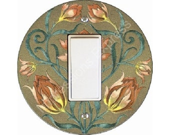 Victorian Floral Decora Rocker Switch Plate Cover