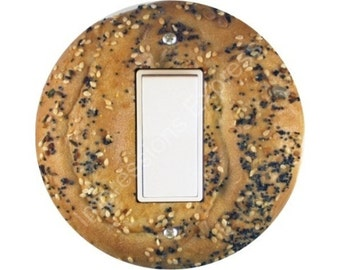 Bagel Decora Rocker Switch Plate Cover