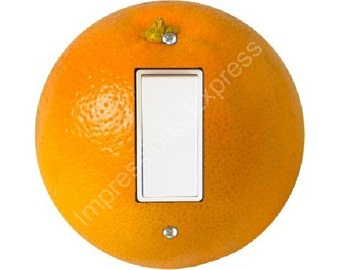 Orange Fruit Decora Rocker Switch Plate Cover