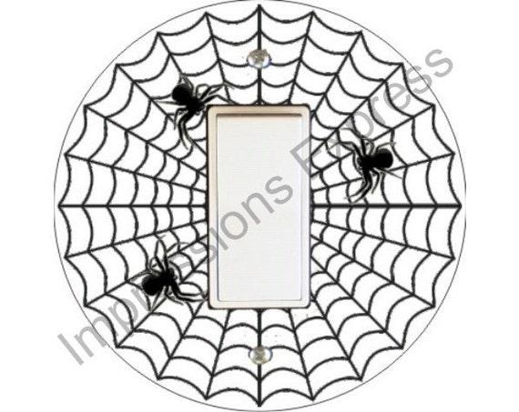 Spider Web Decora Rocker Switch Plate Cover