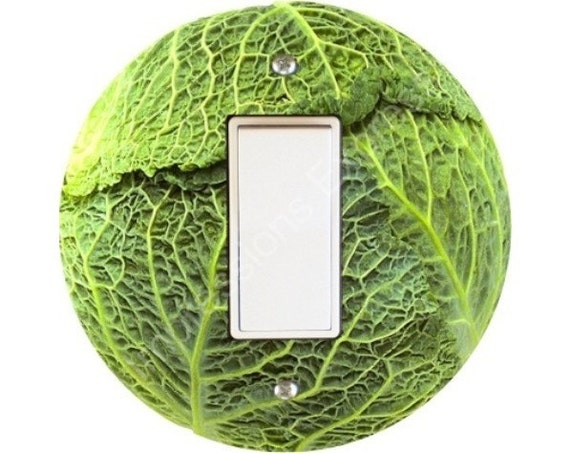 Cabbage Decora Rocker Switch Plate Cover
