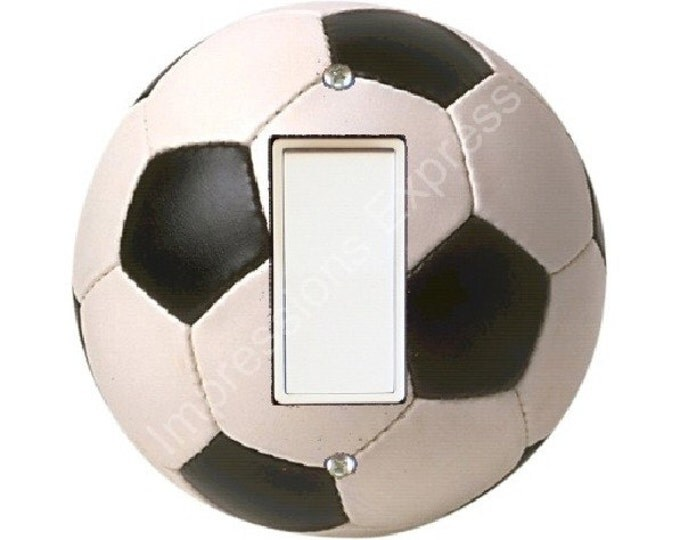 Soccer Sports Ball Decora Rocker Switch Plate Cover A