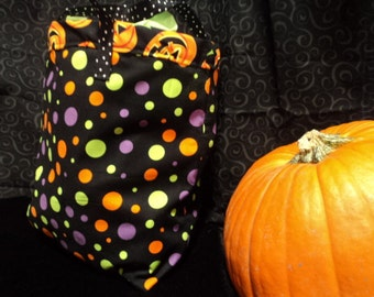 Halloween Bag for Trick or Treaters in Bright Colors