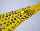 20 Origami Lucky Star Paper Strips Little Bee Yellow