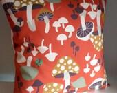 Toadstool Mushroom Cushion / Pillow cover