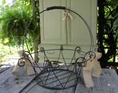 STORE SALE Steel Wire Farmhouse Basket