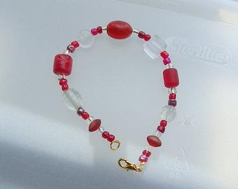Red Sky by Night Bracelet