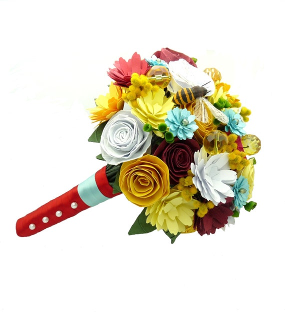 Create your own custom order - custom paper bouquets, boutonnieres, corsages, centerpieces