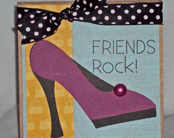 Friends Rock-Card