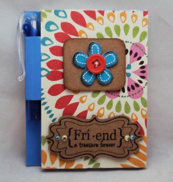 Friend A Treasure Forever Mini Notebook