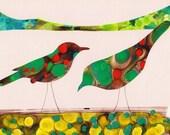 Bird Art Print (By The Water)