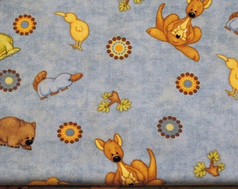 Fat Quarter Cute, Whimsical Animals From Down Under